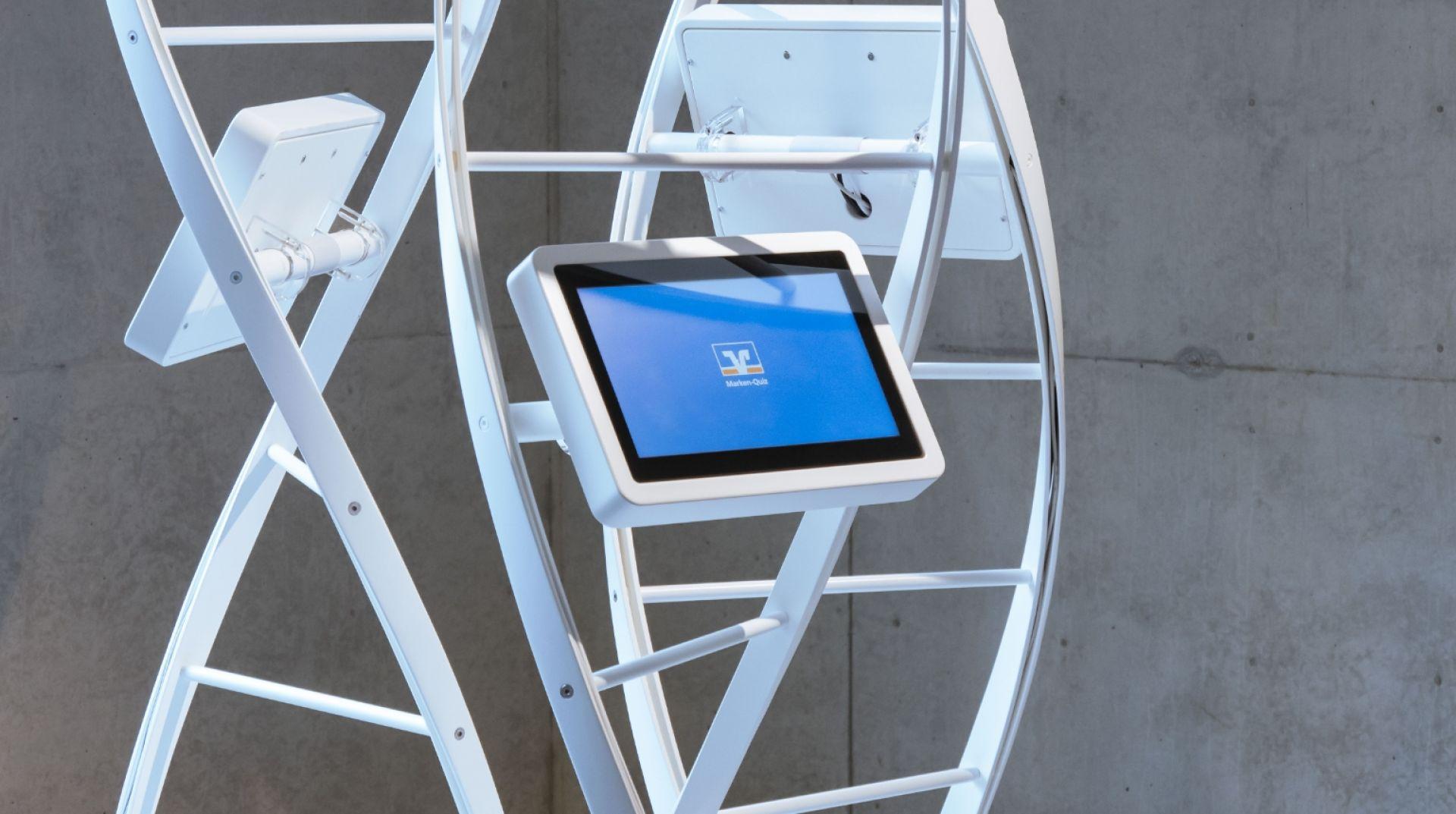 Volksbanken Raiffeisenbanken - Markenturm - Schloß Montabaur - Showroom - Multimedia - Creative Technology - Interactive Experience - Customer Journey - realtime visions