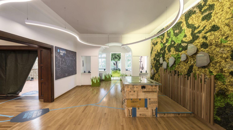 Showroom Hammelburg - Regionalausstellung Hammelburg - Multimedia Tisch - Fotobox - Objekterkennung - Multitouch - Creative Technology - Interactive Experience - realtime visions