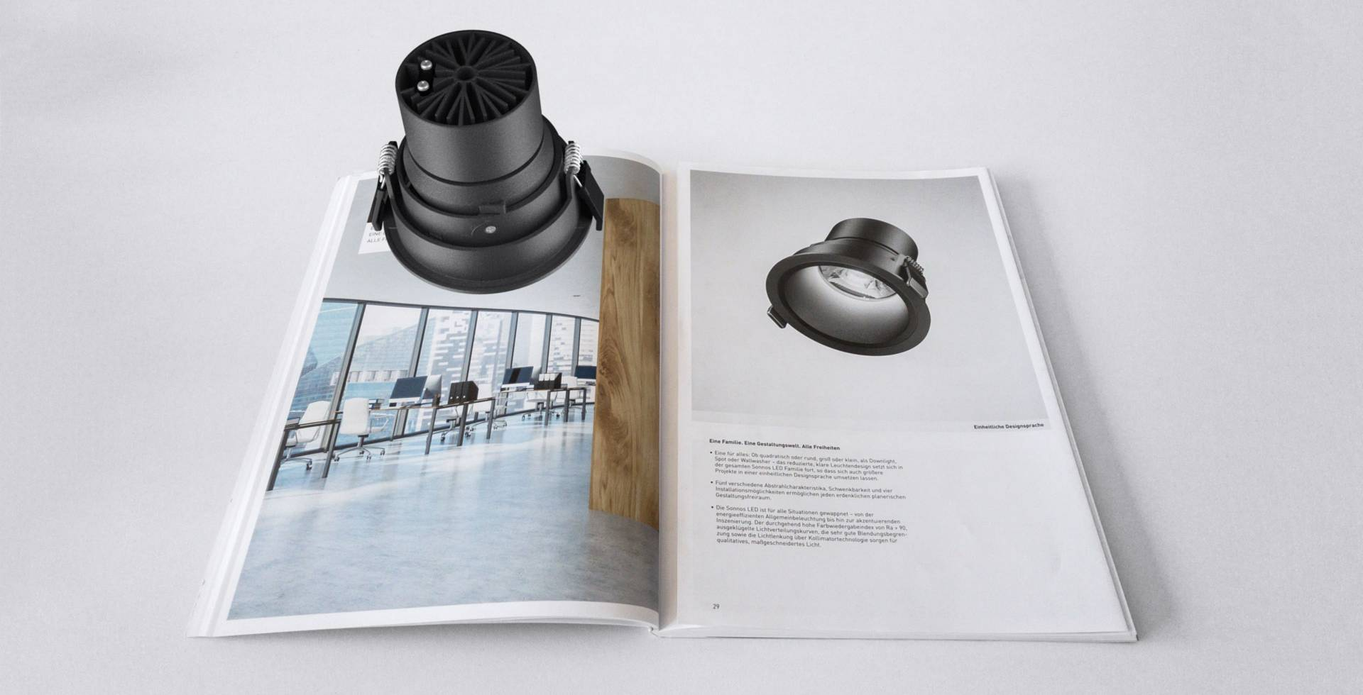 Trilux - AR - Augmented Reality - App - Interactive Experience Interaktiver Katalog - realtime visions