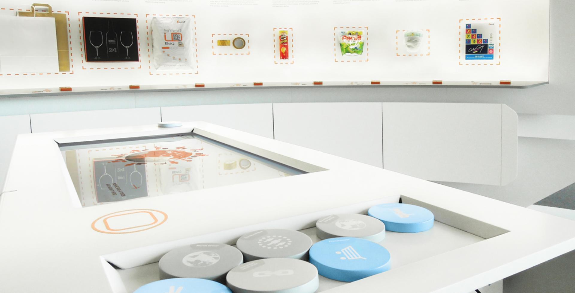 Interaktiver Tisch - Multitouch - Tokenerkennung - Objekterkkennung - Creative Technology - realtime visions