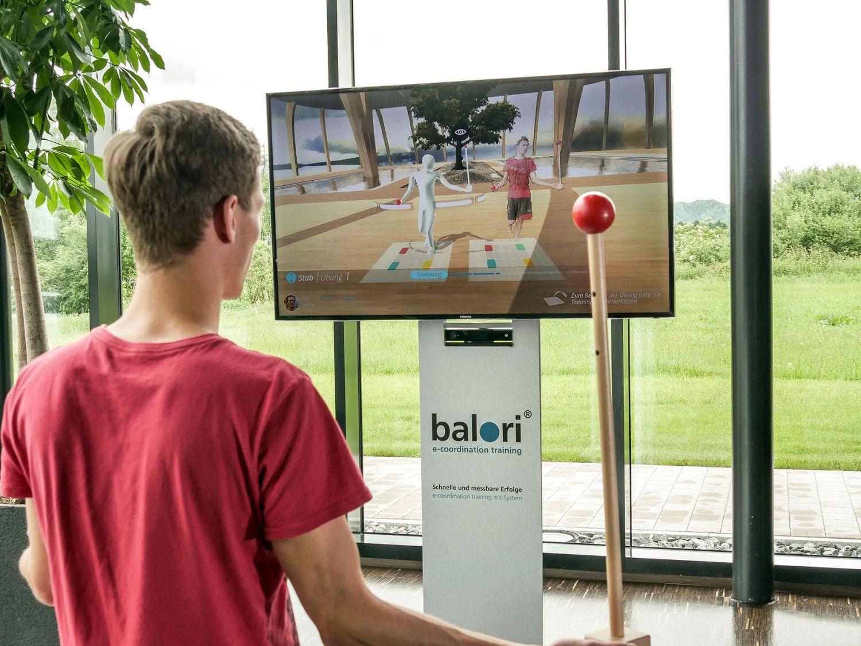 Balori - Training - Motion - Reha Technik - Creative Technology - realtime visions