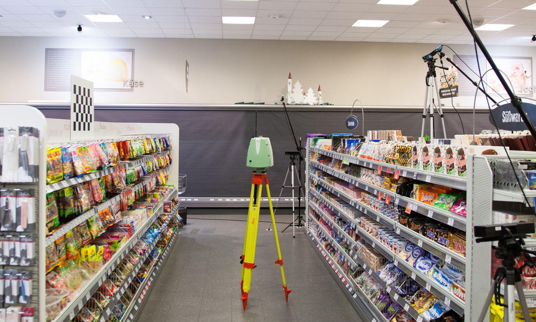 Forschung - Laserscanner - Multisensorik - Creative Technology - POS - Supermarkt - Gesture Tracking - Emotion Tracking - Biomotion - realtime visions