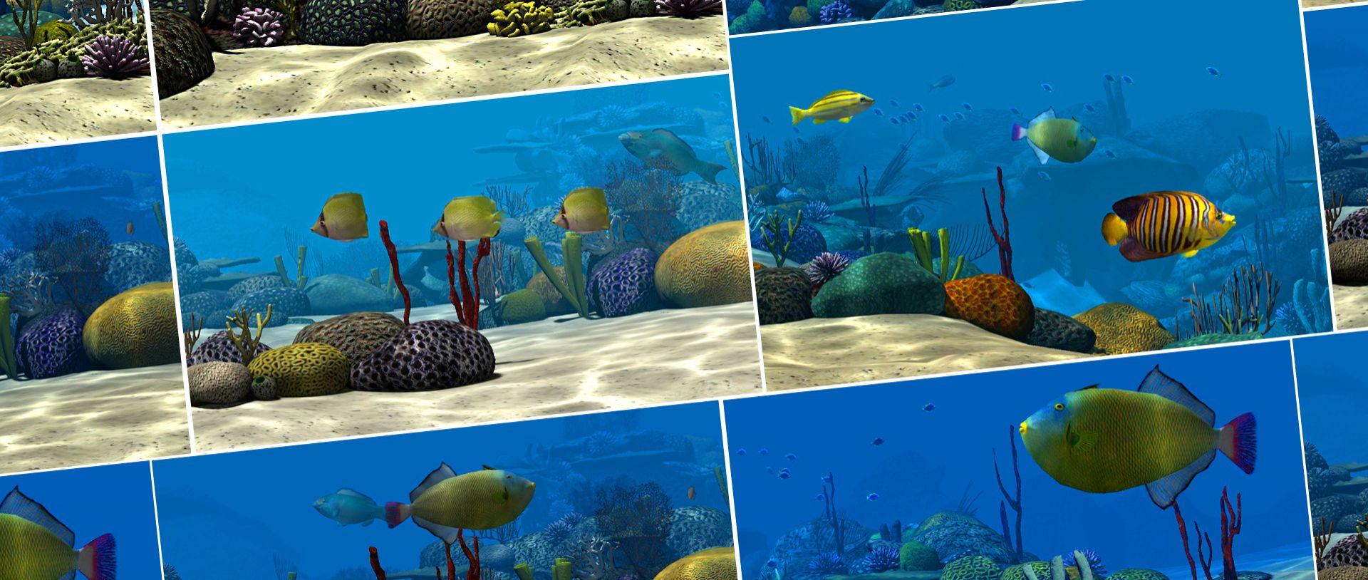 SaarLB - Landesbank Saar - Schaufensterinstallation - Interactive Shopping Window - Interactive Window - Underwater World - 3D World - Interactive Experience - realtime visions