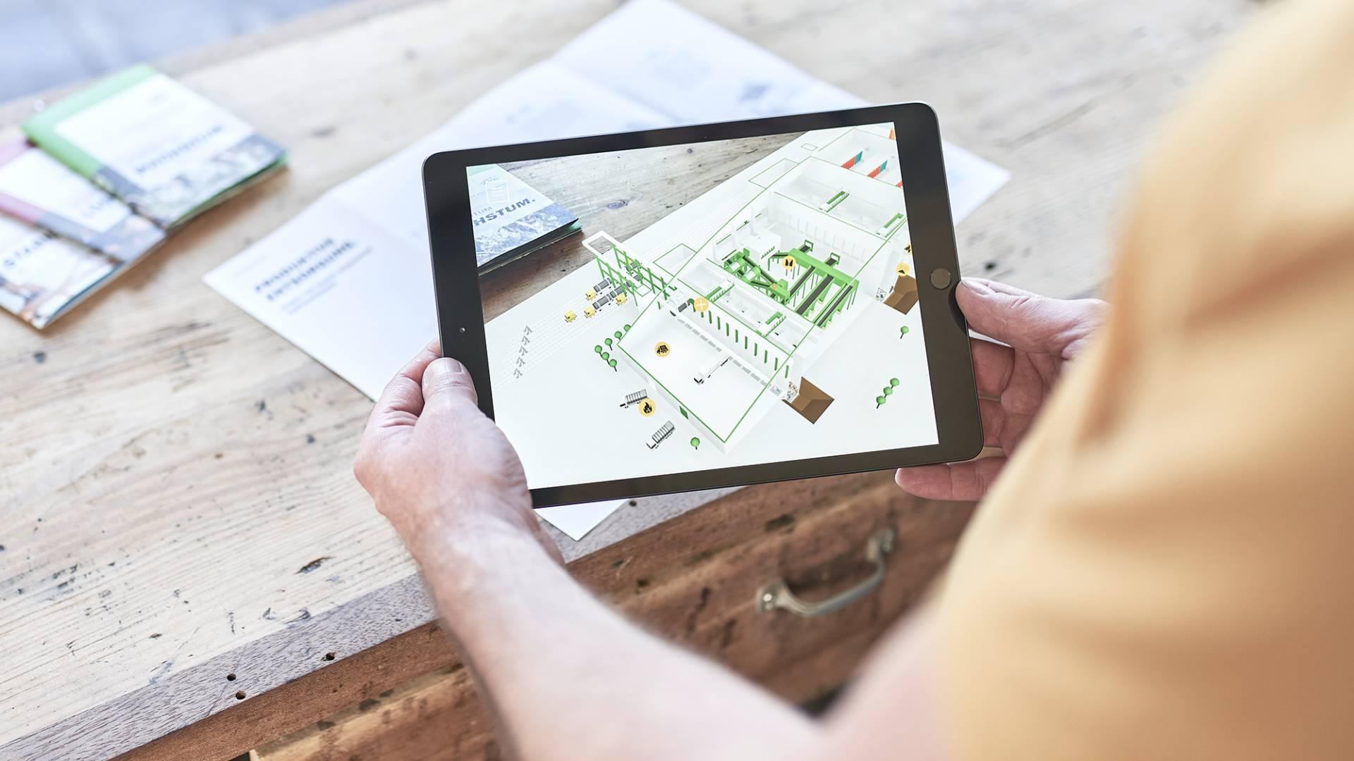 AVG Augmented Reality App - iPad